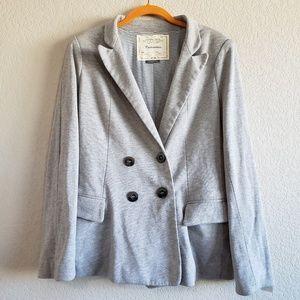 Anthropologie | Cartonnier Gray Blazer Jacket L